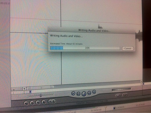 Waiting for Final Cut Pro