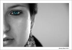 Francy (alessandro.baldini) Tags: eyes nikon occhi ritratto occhio biancoenero d90 nikond90 doublyniceshot