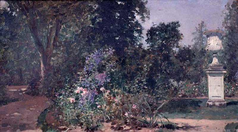 Raimundo_Madrazo_-_Versailles,_le_jardin_du_Roi