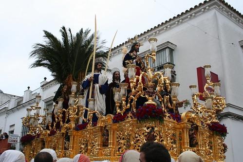 Nuestro Padre Jesús de la Paz. Procesión Magna del Santo Entierro. Sanlúcar de Barrameda, Sábado Santo 2011