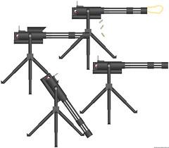 M268 Man Portable MiniGun (Radar J. Prower's Custom weapons) Tags: gun pimp minigun pmg m134 m268