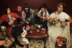 Bad Hand (alishariat) Tags: red cards carpet greek persian long iran rockstar tea pomegranate persia poker grapes vodka iranian chai teaparty shesha farsi fars ghelyoon laat canon500d darvish jahed scenephotography alishariat dashmashti