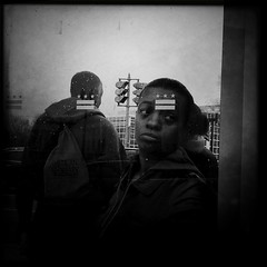 Metro - D8 - 4.12.11 (rpmaxwell) Tags: portrait people urban bw usa public subway dc washington publictransportation metro candid lofi portraiture dcist persons unposed subways wmata iphone iphoneography iphoneographie hipstamatic