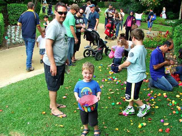 Easter Egg Hunt Hunter Valley Gardens