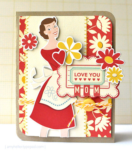 Love You Mom {Card}