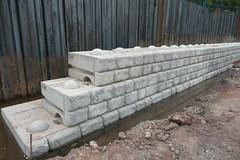 CPM Redi-Rock Landscaping Modular Walling (CPM Group) Tags: landscaping rail cobblestone highways housing cpm culverts retainingwall environmenta