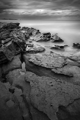 """Anger"" (Luke Peterson Photography) Tags: longexposure white seascape black water canon rocks angry 7d cronulla cokin 17mm 25sec p121m"