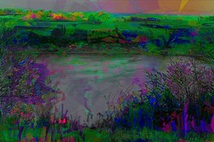 Spring Variants v3 (flynryon) Tags: light sunset lake painterly abstract green art mobile digital landscape movement paint dream surreal canvas explore artists impressionism kansas angular ryon fingerpainted iphone artstudio layered brushstroke emulate scumble fingerpainter iphoneart paintbook fingerpaintedit flynryon httppaintbookcaflynryon ipaintings iamda