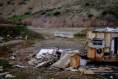(candice_michal) Tags: house abandoned utah thistle foundation ghosttown destroyed sanpetecounty sanpete