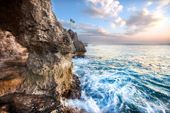 'Where the Ocean Meets the Sky', Jamaica, Negril, West Side Cliffs
