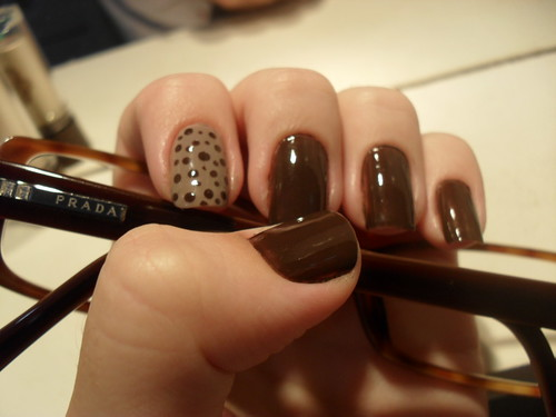 Nail Art - Dots by DéboraWernke