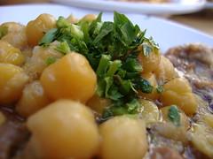 Humus Ful (Sharon G.) Tags: humus chickpeas