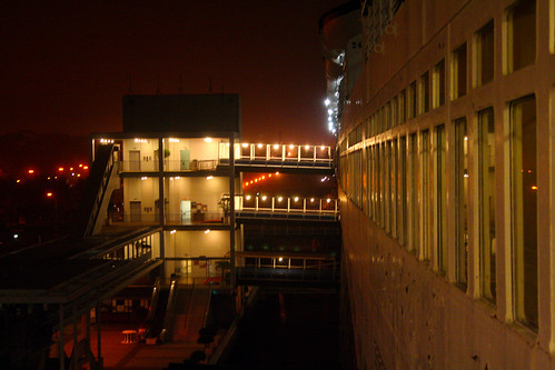 Queen Mary - Elevators and Gangplanks to Attraction