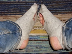 Hole sock (lasseman92) Tags: broken stockings socks out big sock toe hole bad dirty holes holy terrible worn torn heel cry hobo smelly hollow ragged tattered wornout holey inherited froozen coold holysock sockholes