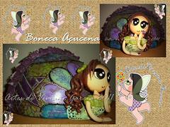 Boneca Aucena (Artes di Viviane Garcia) Tags: baby fashion doll bonecas dolls mandala biscuit teen infantil kawaii boneca decorao mandalas enfeite mang cabaa magrela porcelanafria coldporcelain namoradeira magrelas vivianegarcia