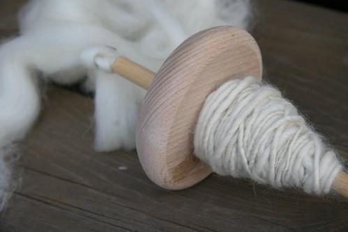i made yarn!!