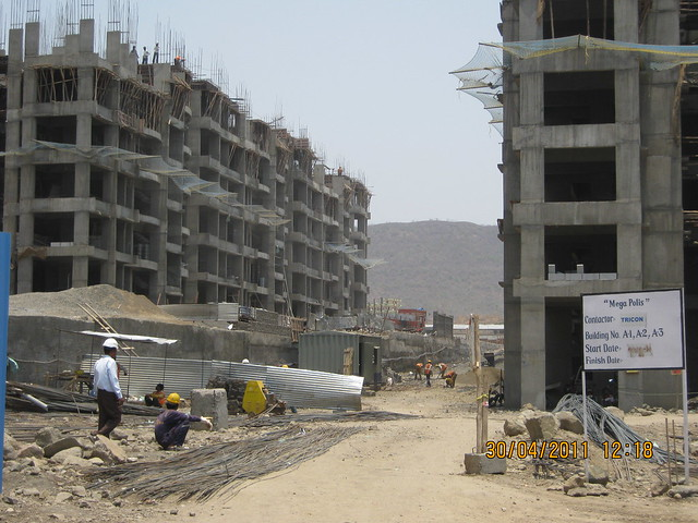 Wide space between Sparklet - Megapolis Smart Homes 1 and Sunway - Megapolis Smart Homes 2, Hinjewadi Phase 3, Pune 411 057