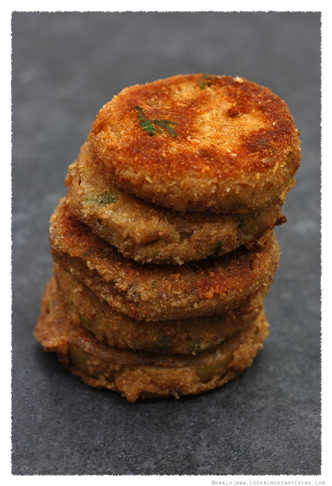 green tomato fritters© by Haalo