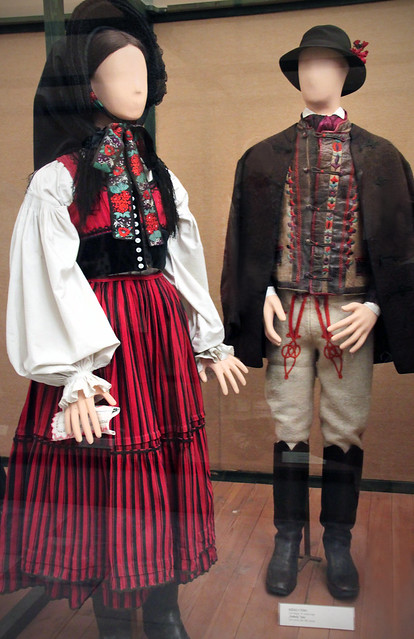 Székely couple, Csik county, late 19th century
