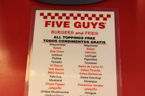 Five Guys Burgers Vs In N Out Is There Really Any