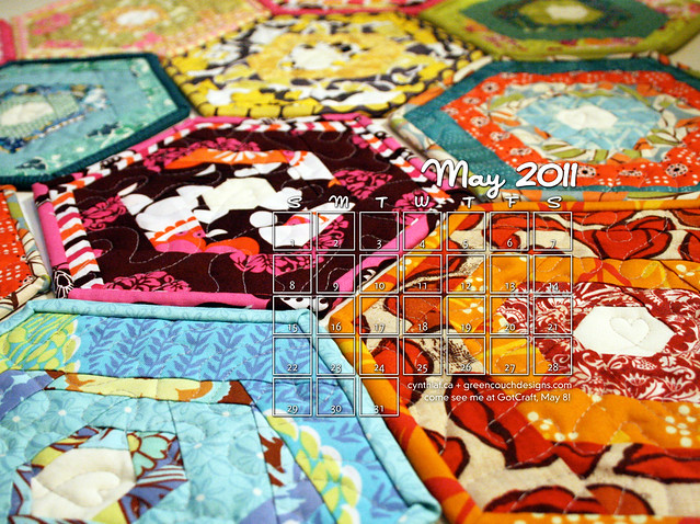 May 2011 Desktop Wall Calendars