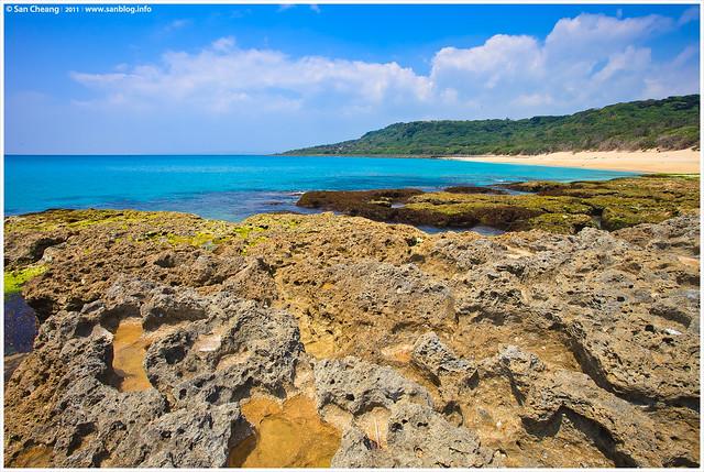 墾丁砂島(貝殼沙)