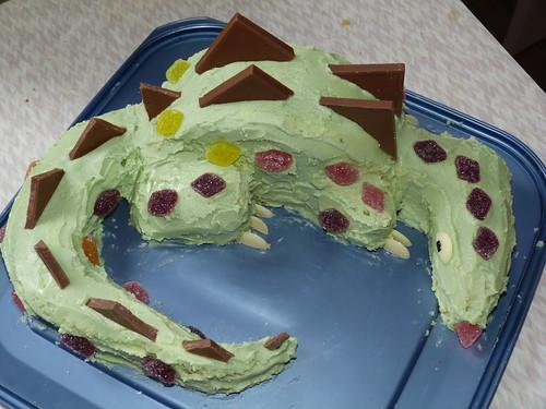 Dinosaur Cake by graham_h_miller