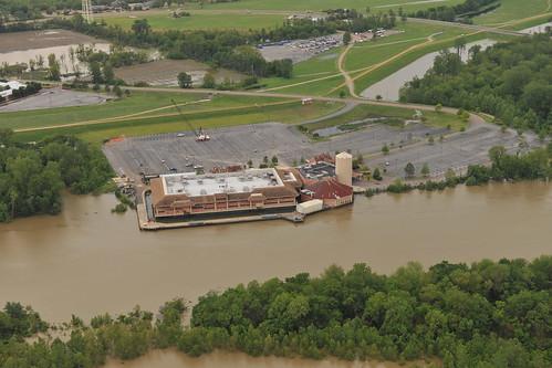 Map of the 2011 Mississippi River Floods on Tripline