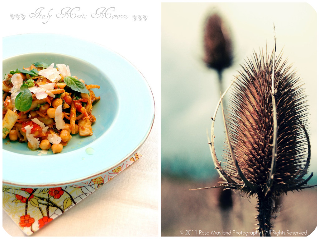 Chickpea Salad Picnik collage 5 bis