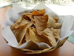 Totopos (knightbefore_99) Tags: food classic mexico lunch restaurant deep chips mexican oaxaca fried tortilla huatulco totopos donporfirio