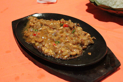 Crocodile Sisig