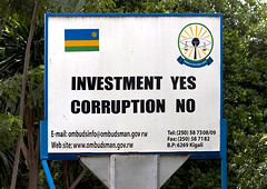 No corruption campain - Rwanda (Eric Lafforgue) Tags: africa outdoors billboard rwanda afrika commonwealth panneau corruption afrique eastafrica 0419 gisenyi centralafrica anticorruption kinyarwanda ruanda afriquecentrale  gisenye    kisenyi republicofrwanda   ruandesa