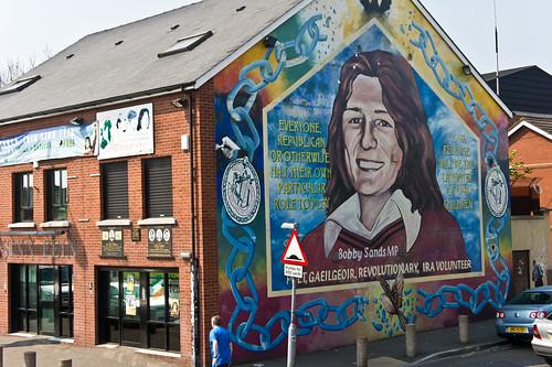 Belfast City Murals - Bobby Sands