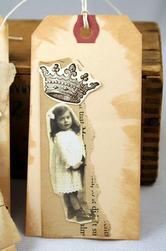 Vintage Tag Queen