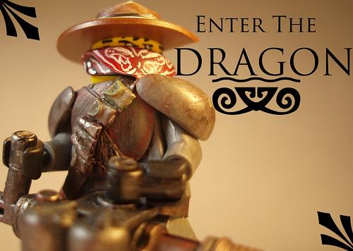 Custom minifig Photoshopped Dragon