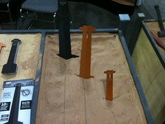 SOFIC: Toughstake sand and snow stakes.