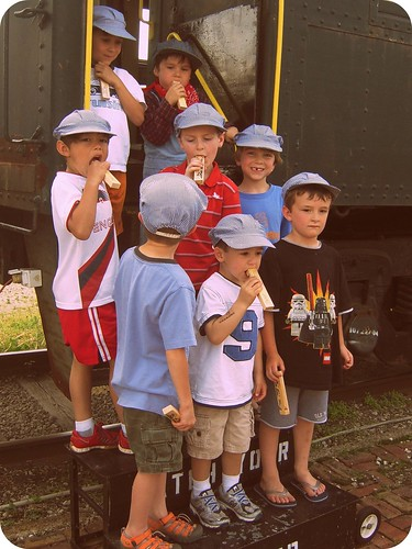 Beckham Train (age 5)