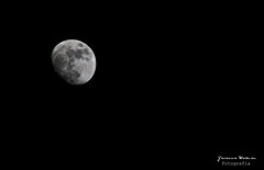 The dark side of the moon. (Yavanna Warman {off}) Tags: sky blackandwhite moon black night lune canon dark eos star noche darkness tripod negro astro luna galaxy cielo lua planets astronomy universe 75300 galaxia oscuridad oscuro universo planetas astronomía trípode milde yavanna 1000d yavannawarman