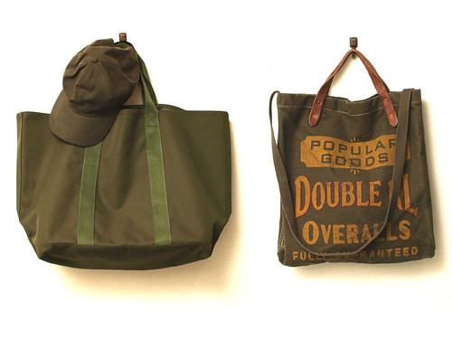 Olive Bags&Cap