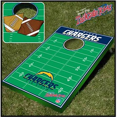 San Diego Chargers Bean Bag Toss Game
