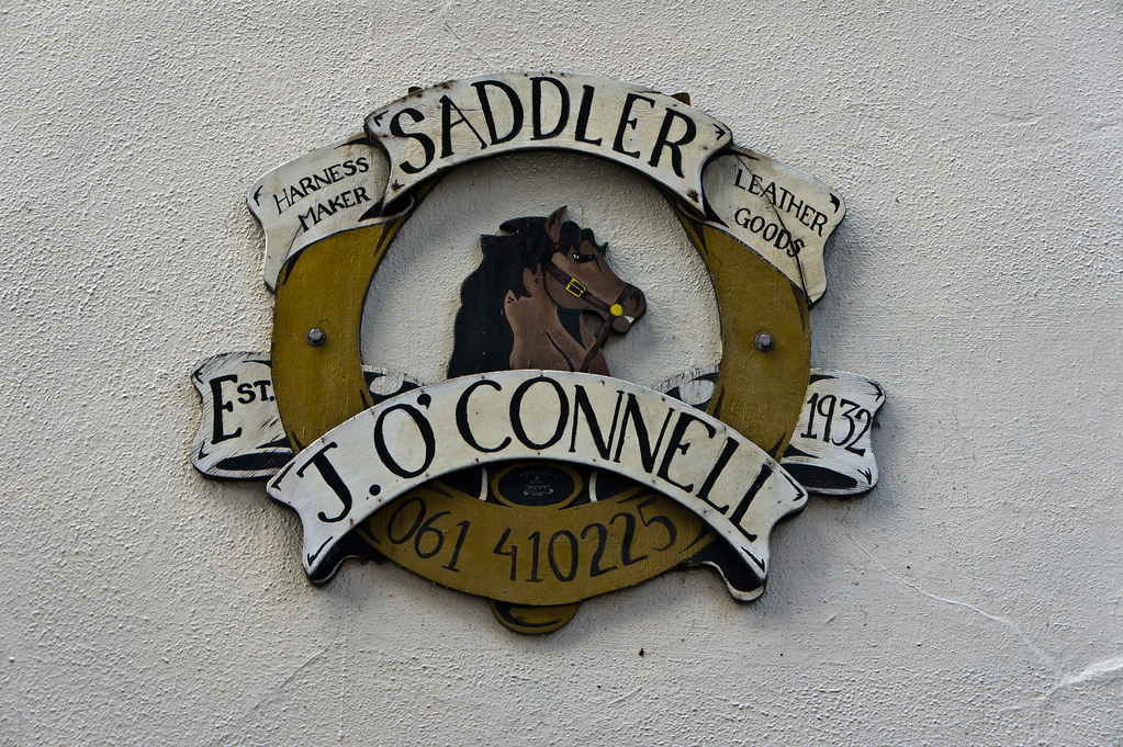 Limerick - J.O'Connell, Saddler & Harness Maker