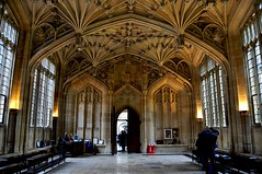 Bodleian interior - divinty school ground floor