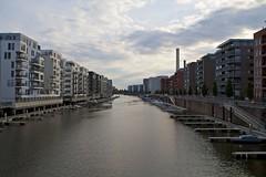 Westhafen, Frankfurt (grchb) Tags: deutschland hessen frankfurt gallus flusskrebssteg festhafen