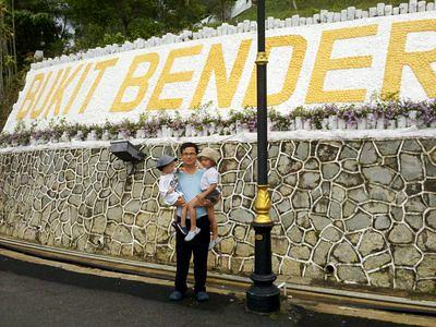 Big Bukit Bendera sign