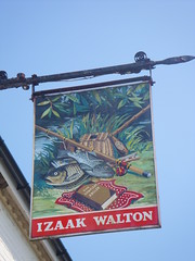 Pub sign in East Meon