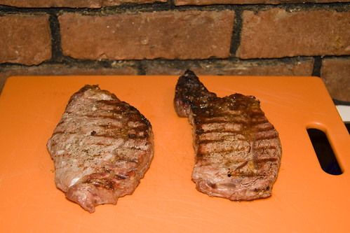 Finished Steaks