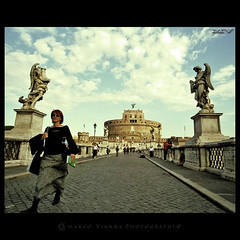 Sant' Angelo (m@tr) Tags: roma italia castelsantangelo santangelo canoneos500n castillodesantangelo canon2880mmf3556 mtr marcovianna