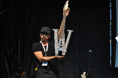 Win this guitar at Wesfest