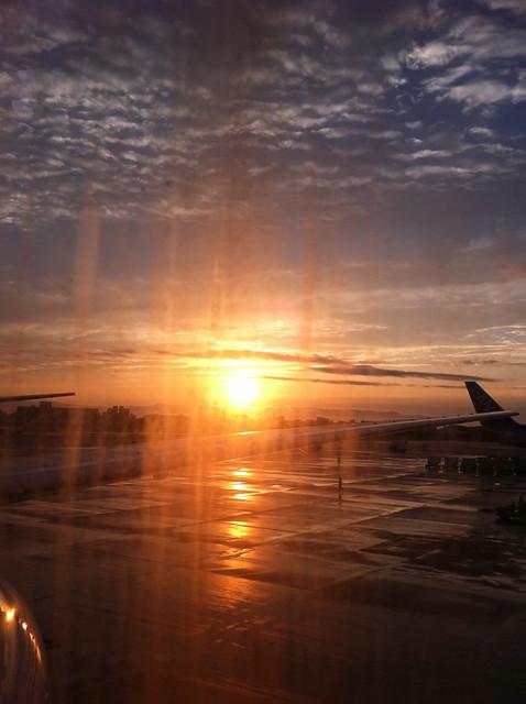 福岡空港!