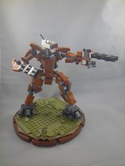 Tau XV71 Battlesuit (no weapon effects) (donuts_ftw) Tags: tau battlesuit mecha mech moc warhammer40k warhammer40000 space scifi